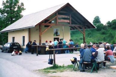 Okič-večnamenski dom krajanov.